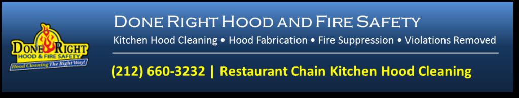 Kitchen Exhaust Cleaning Restaurant Chains New York City