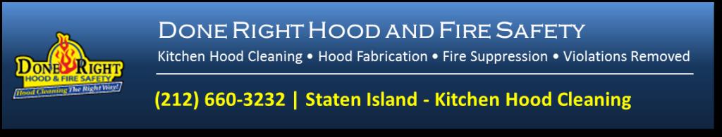 Kitchen hood Cleaning in Staten Island