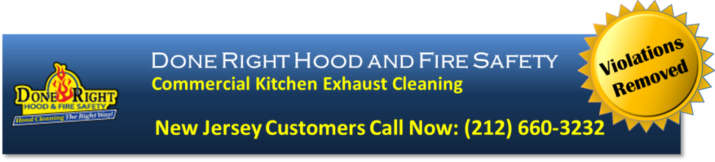 Kitchen Exhaust Cleaning Jersey City NJ